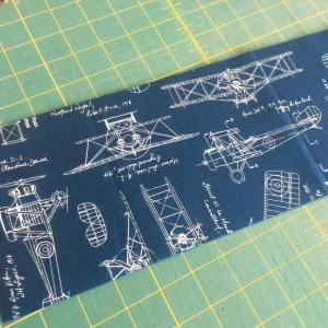Cool fabric on my cutting table today! Happy Monday!! whathellip