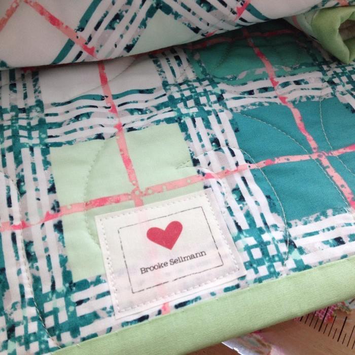 And a label finishes it! @fatquartershop @artgalleryfabrics @katarinaroccella happy Thursday!