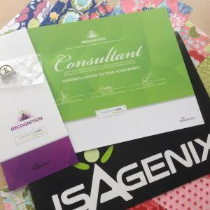 Happy mail day!! Received my consultantrecognition certificate yesterday! Just onehellip