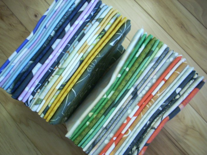 printmaking mini quilt