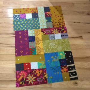 Playing with a new block idea using mostly agfabrics alisonglasshellip
