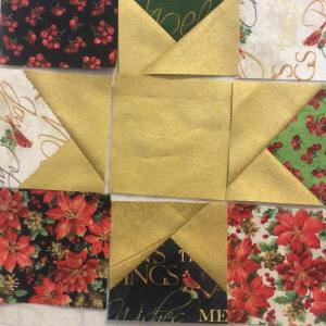 Sneak peek of my noeltablerunnerproject for the windhamfabrics christmasinjulybloghop todayhellip