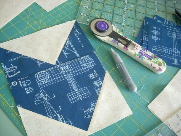 block piecing