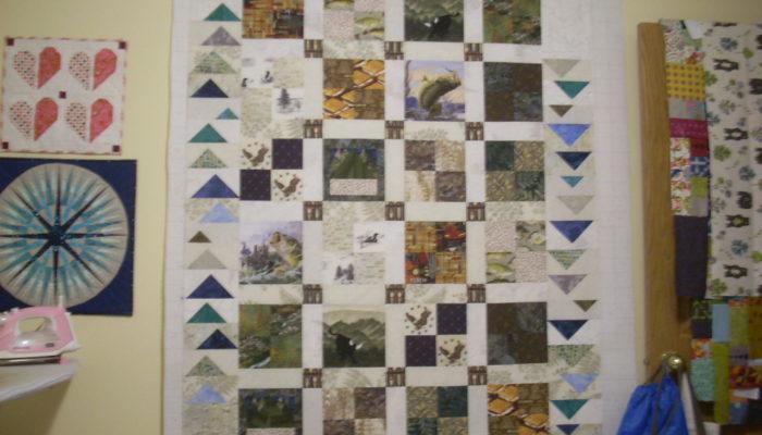 eagle scout quilt top