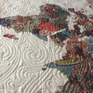 Today8217s finishitfridayblogpost featured this gorgeous world map quilt I madehellip