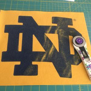 Working on the tshirtquiltproject today and enjoying some fabulous sunhellip