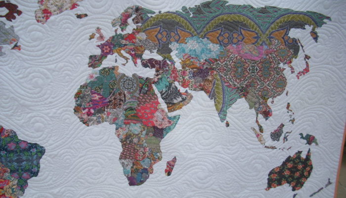 World Map Quilt Pattern.World Map Quilt Archives Silly Mama Quilts