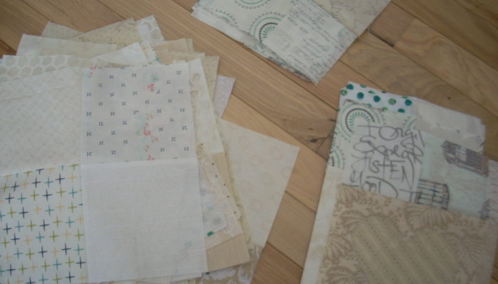 wedding quilt progress