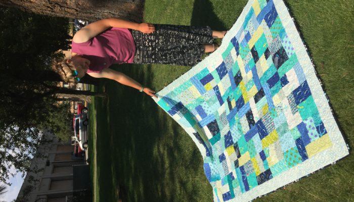 Heidi's college quilt