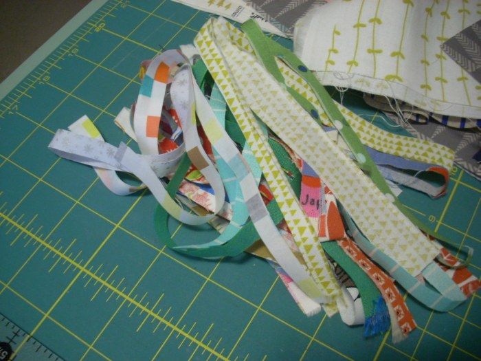 cutting strips