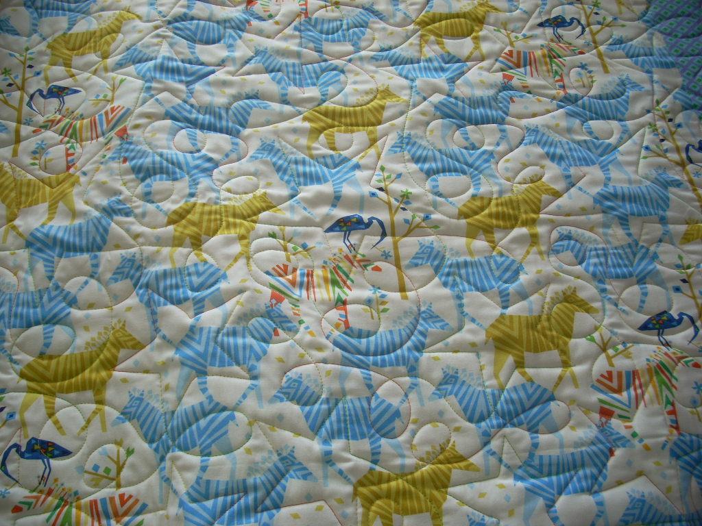 bright boy quilt