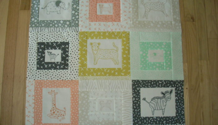 almost a quilt top