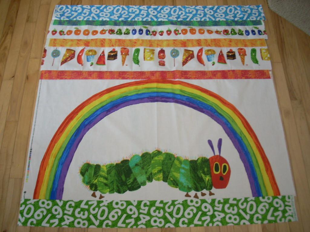 one caterpillar