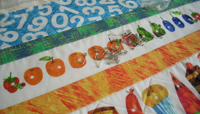 quilting sections