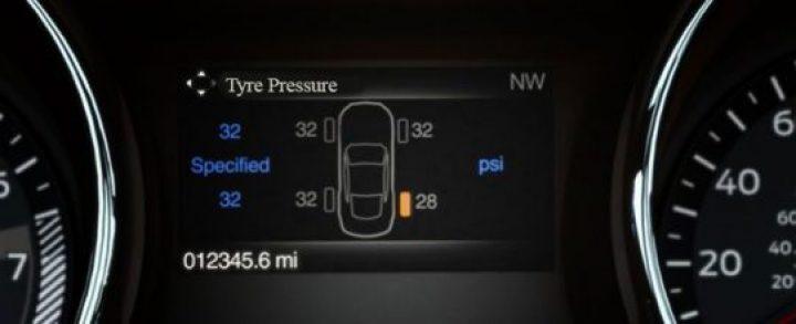 Tyre Pressure Warning