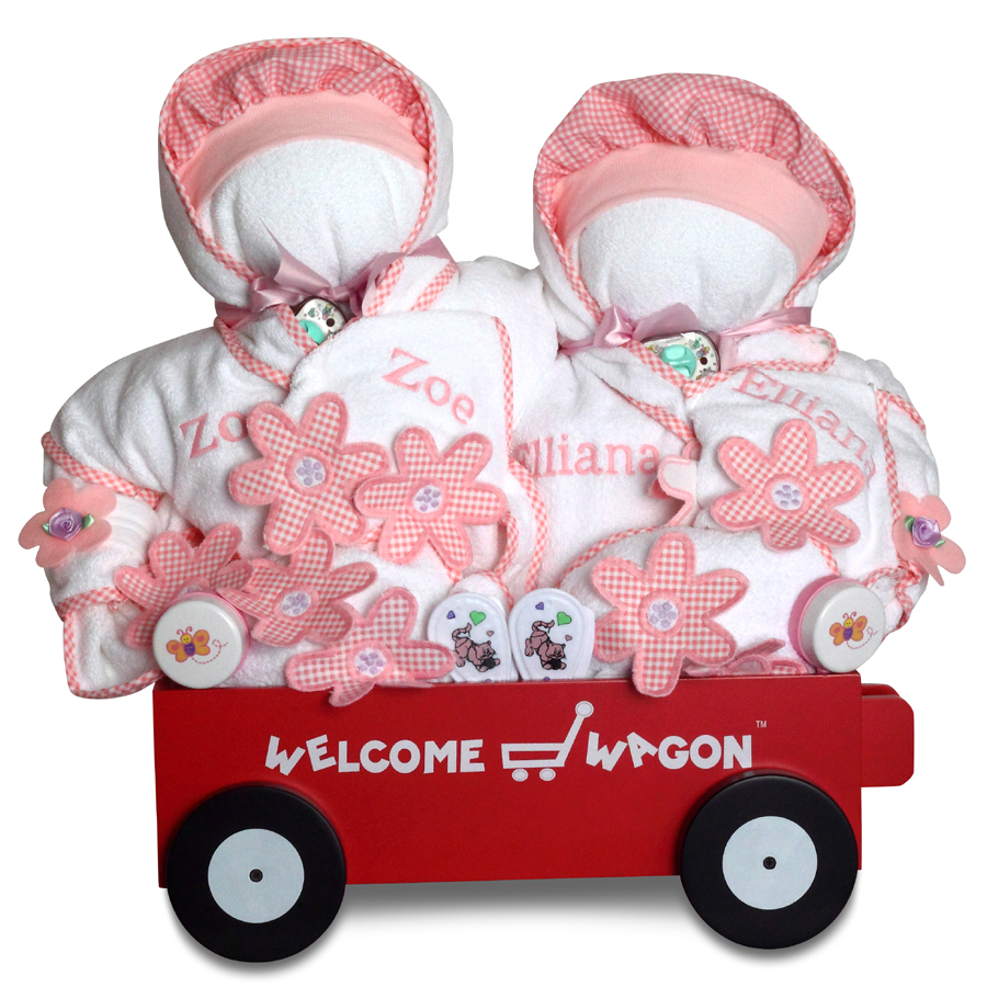 deluxe welcome wagon personalized
