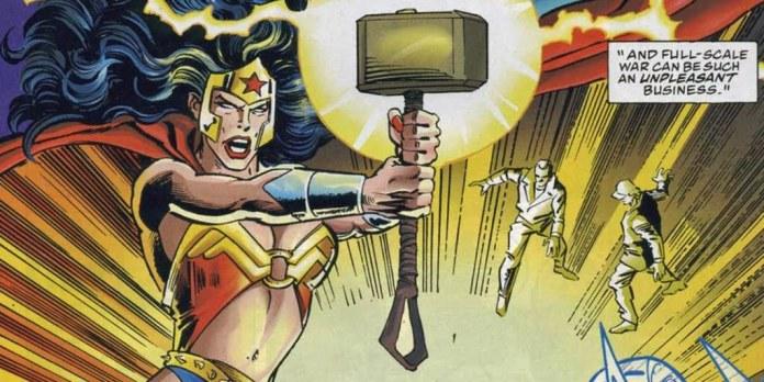 Wonder Woman degna del Martello di Thor