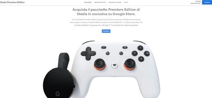 Google Stadia prezzo