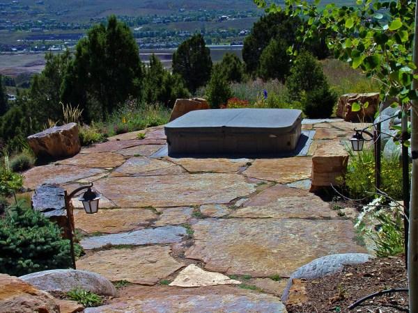 natural stone walkways