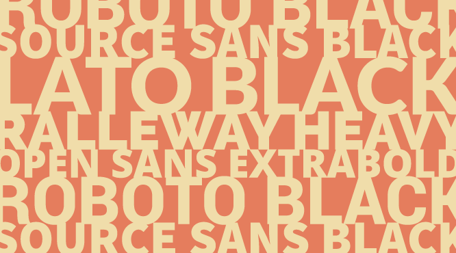 5 Sans Serif Google Font combinations  My favourite: the 3