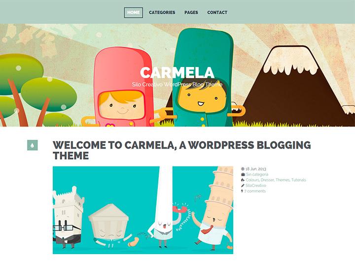 carmela-theme-wordpress-blog