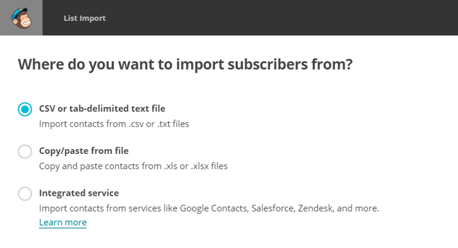 list-import-mailchimp