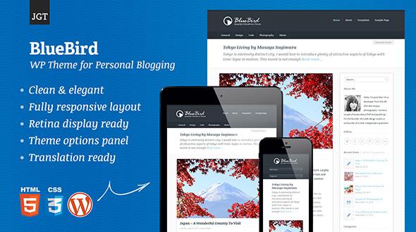 6 Plantillas WordPress para Blogs Responsive • Silo Creativo