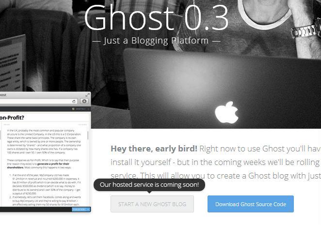 crear blog en ghost