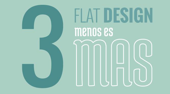 flat design en diseño web