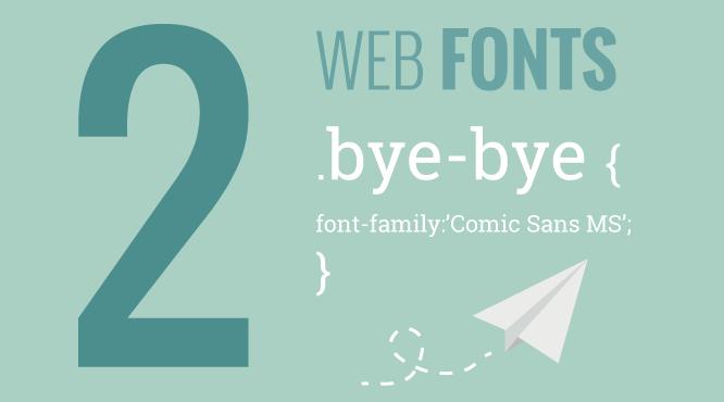 tipografías Web: web fonts
