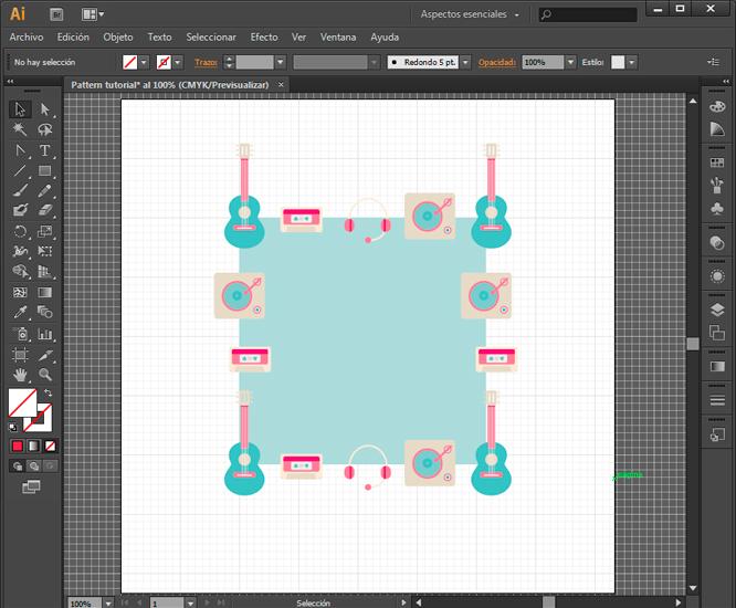 Como crear un patrón en Illustrator • Silo Creativo