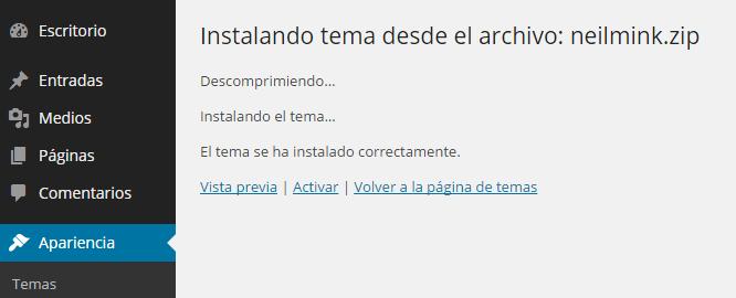 plantilla-instalada-correctamente-wordpress
