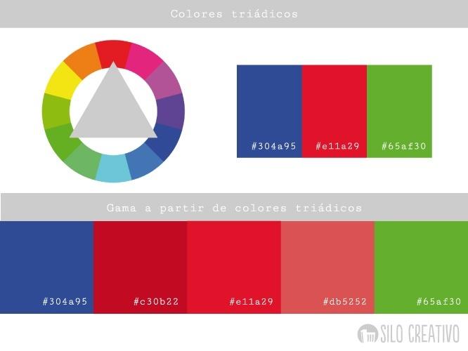 Combinaciones de colores con ayuda del c rculo crom tico - Que colores pegan ...