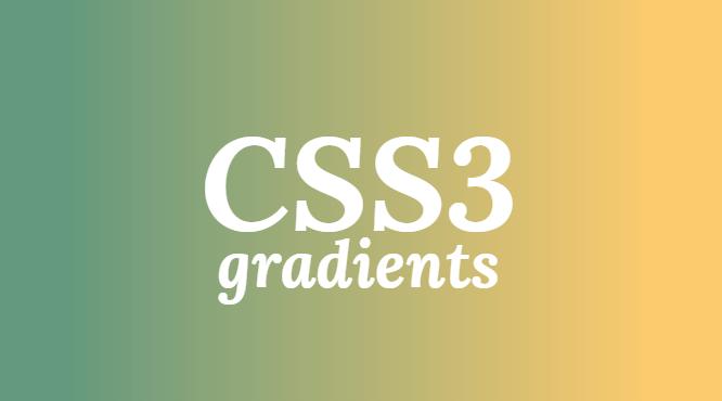 Degradados con CSS3