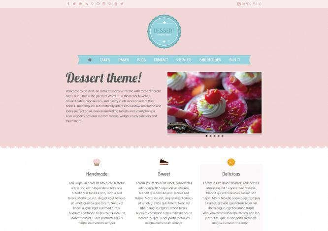 web-dessert-wordpress-theme