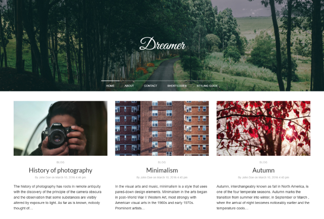 dreamer-plantilla-wordpress-blog