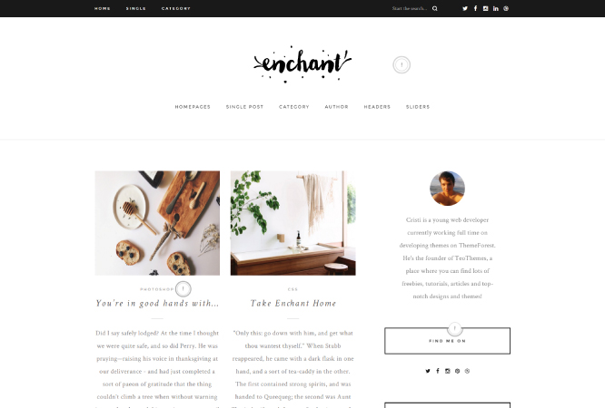 enchant-wordpress-theme-blog