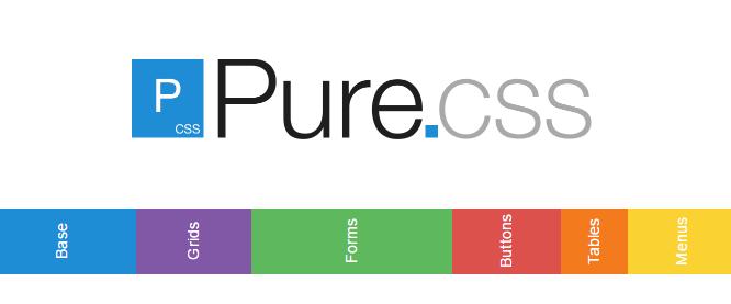 Pure CSS Framework muy ligero