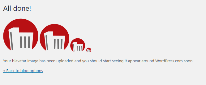 Bravatars subido icono en WordPress