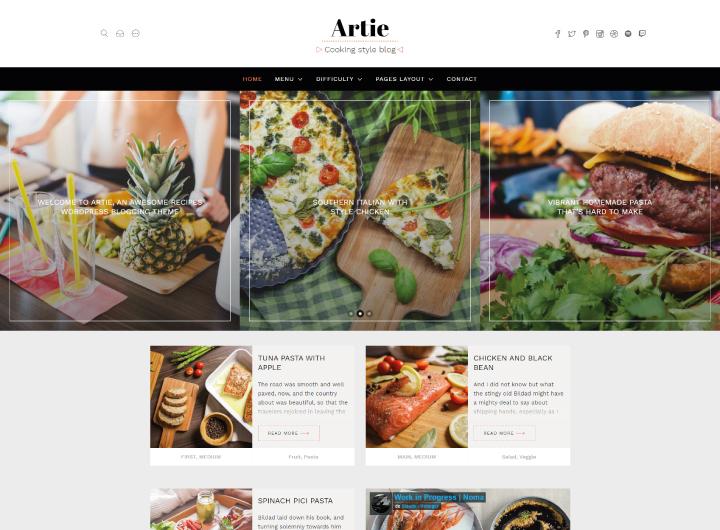 artie-plantilla-cocina-wordpress