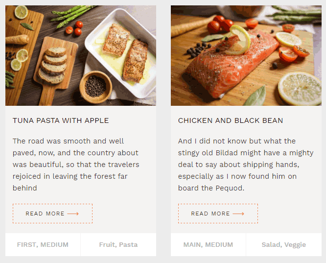 Blog en WordPress con enlace Leer más