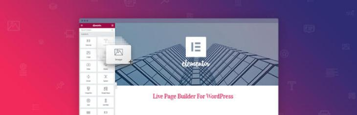 Elementor Page Builder para WordPress