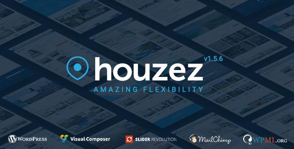 Houzez, plantilla WordPres para Agencias Inmobiliarias