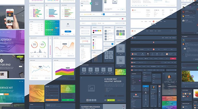 Kit de diseño UI en Affinity Designer