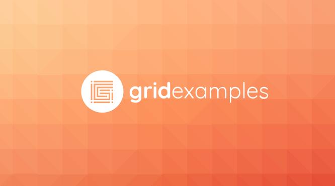 Ejemplos CSS Grid