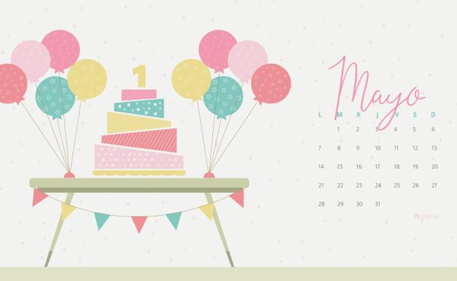 Calendario Descargable Mayo 2018 Silo Creativo