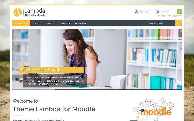 Lambda, modèle pédagogique pour Moodle