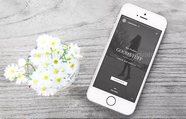 Promotional, plantilla para Instagram Stories