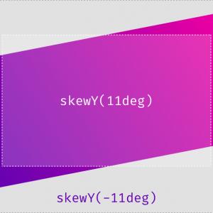 maquetacion web en diagonal