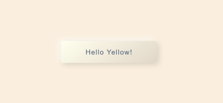 neumorfismo botón amarillo convexo